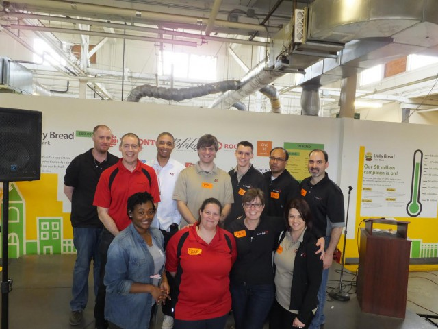 Daily Bread Food Bank Volunteer Day by End to End Networks Inc.